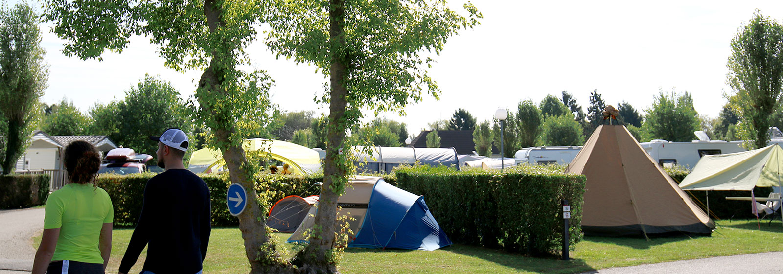 Emplacement camping en Normandie