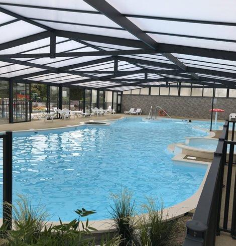 Camping avec piscine couverte en Normandie
